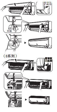 三菱空调室内机清洗方法
